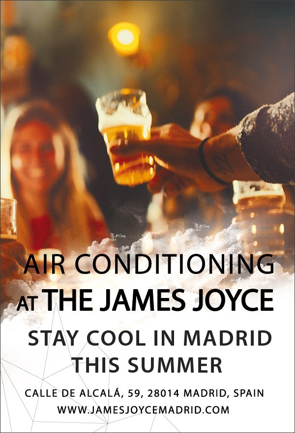 air conditioned pub in madrid