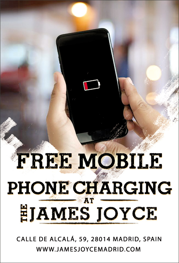 free mobile charging madrid