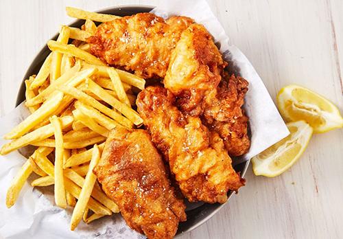 fish dinner in madrid