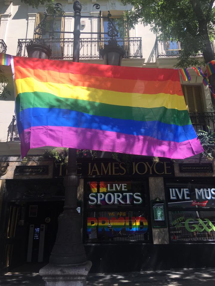 gay pride in madrid