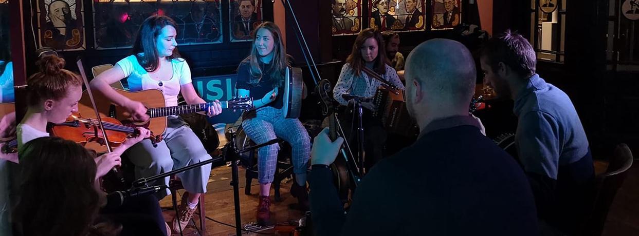 traditional irish music in madrid